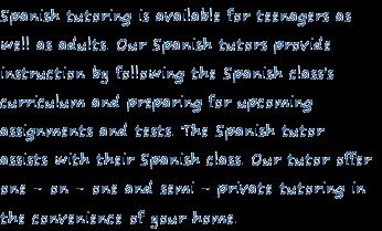Spanish homework help site